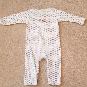 Magnolia Baby 9M boy playsuit